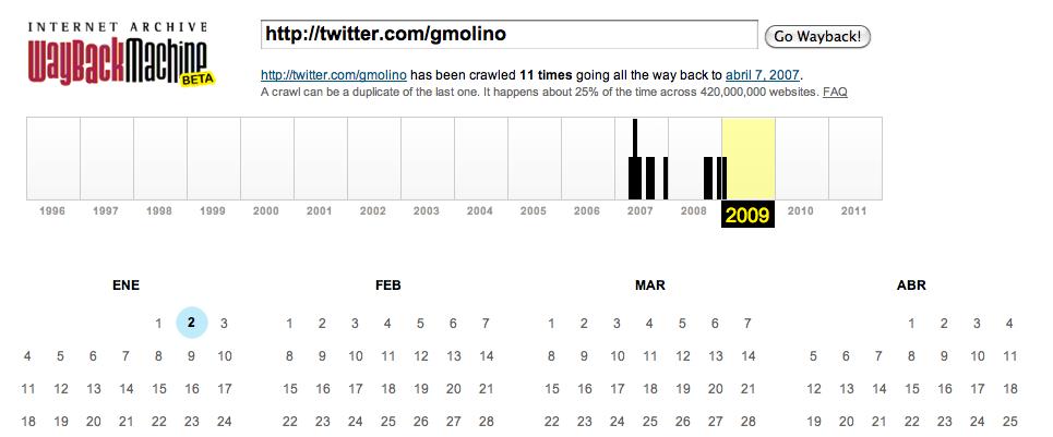 como saber cual fue nuestro primer tweet