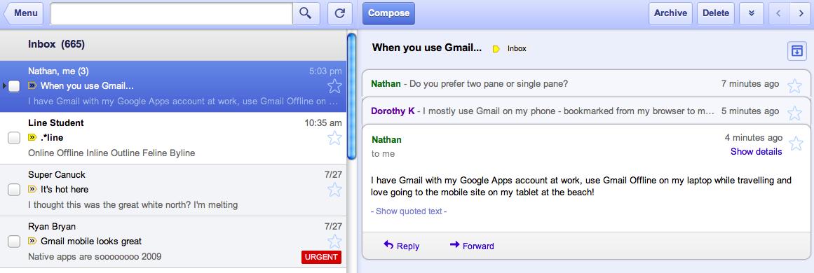 extensión para tener gmail sin conexión