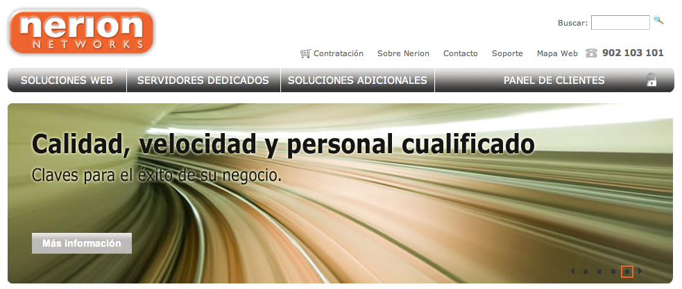 Nerion, profesionales del hosting
