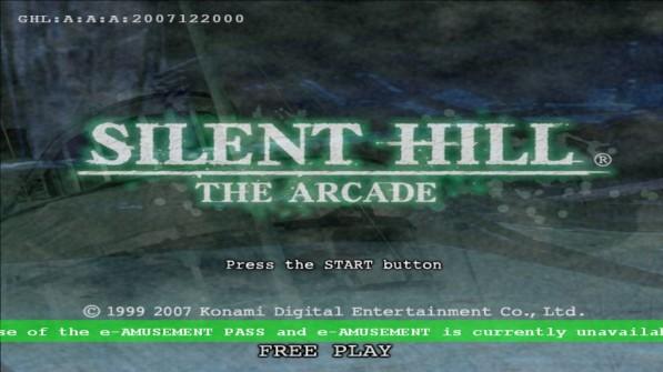 Silent Hill: The Arcade, Emulado y 100% Funcional!! [MEGA]