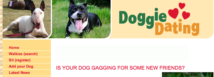 doggie dating, red social para encontrar pareja a las mascotas