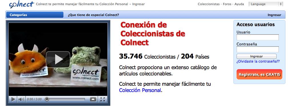 colnect red social de coleccionistas