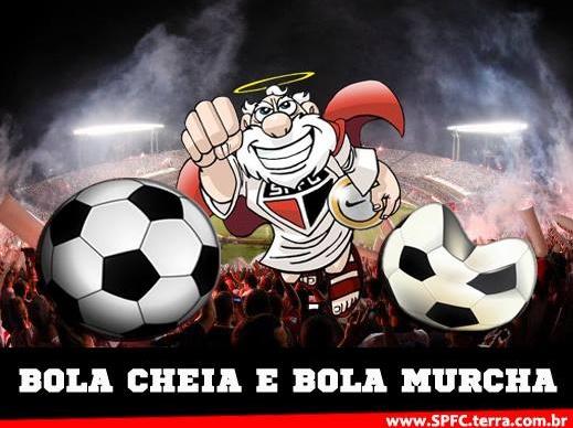 Bola Cheia e Bola Murcha - São Paulo x Emelec - por José Poy