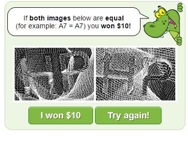 Won $10!