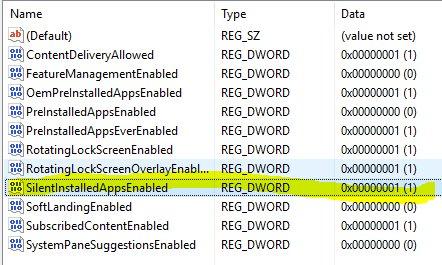 Windows 10 - Registry Key erlaubt Microsoft Apps auf dem System zu installieren Windows 10...