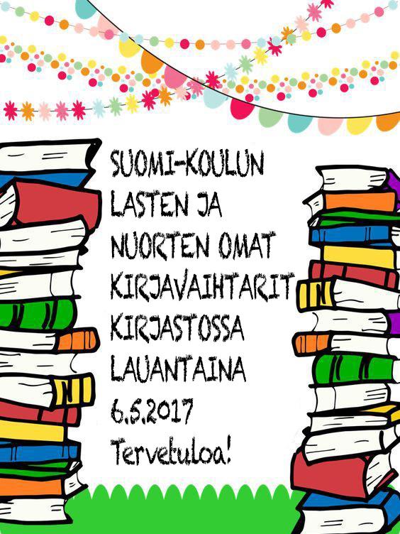 Kaipaatko uutta luettavaa?