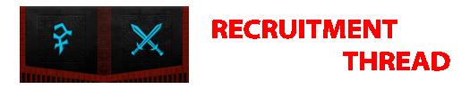 Recruitment Thread