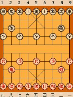 象棋初始局面