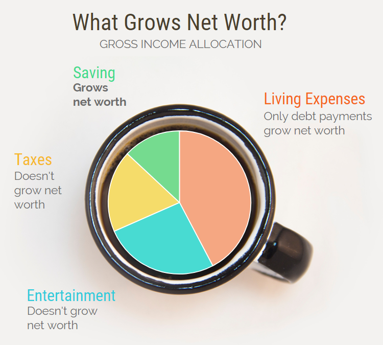What Grows Net Worth
