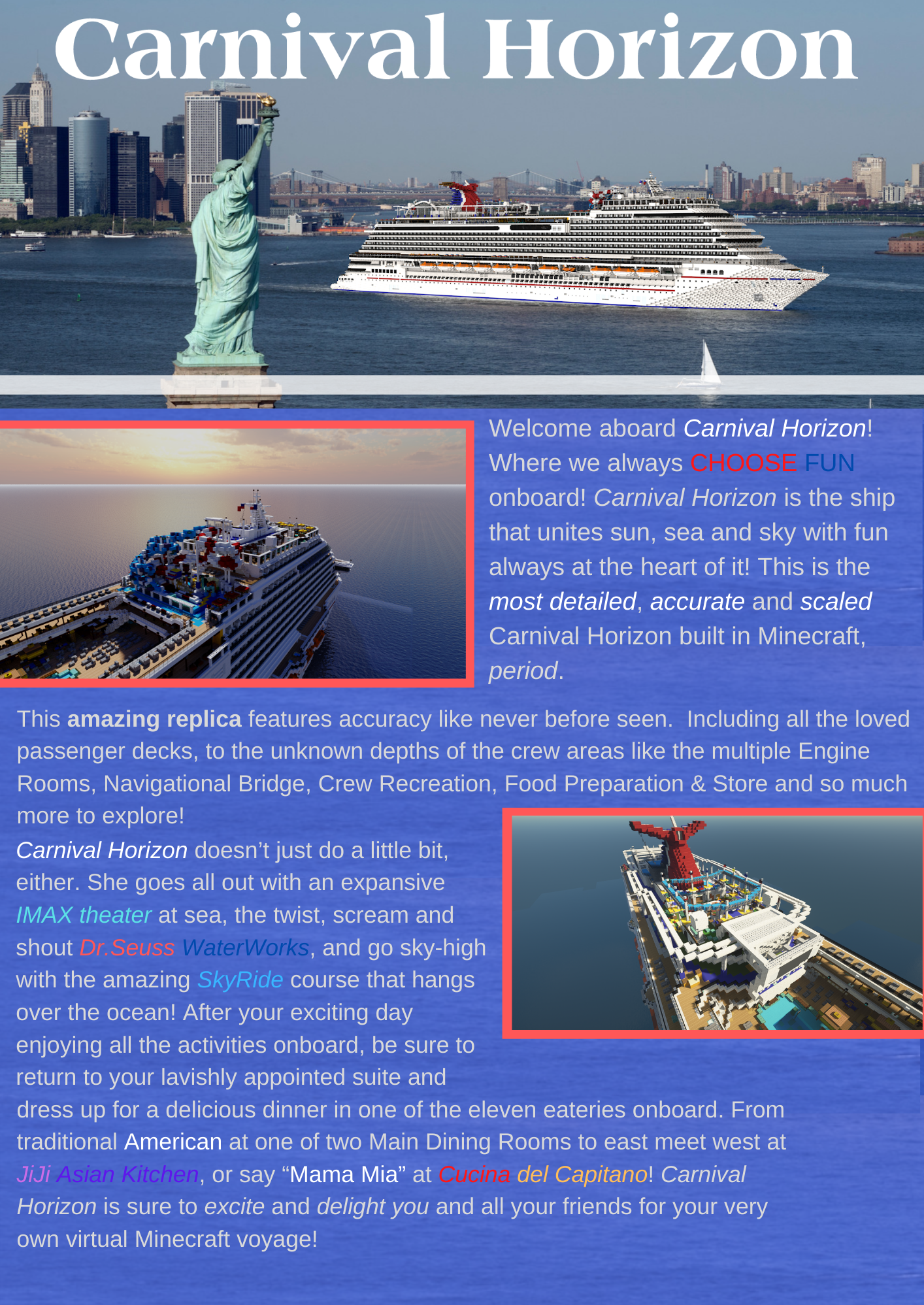 Carnival Horizon Infographic 1