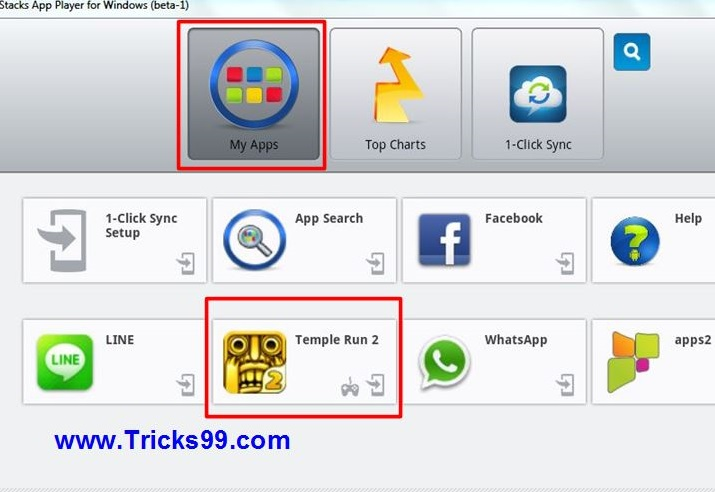 How to play temple run in pc-win7-8